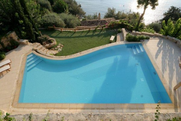 Pool Coping - pool coping options - deck drains